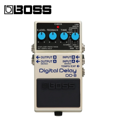 BOSS DD-8 Delay 效果器