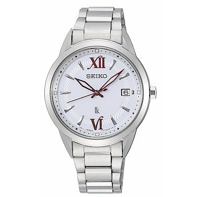 SEIKO LUKIA優雅時尚太陽能腕錶V147-0CL0S/SUT387J1