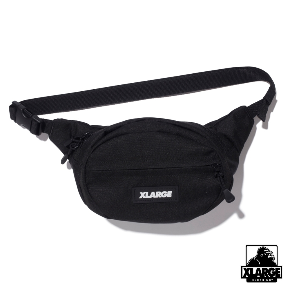 XLARGE PATCHED WAIST BAG腰包-黑