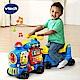 【Vtech】4合1智慧積木學習車-藍 product thumbnail 1