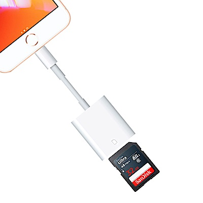 Apple Lightning to SD 卡相機讀卡機