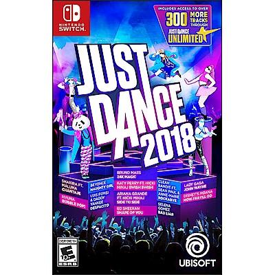 舞力全開 2018 Just Dance -Nintendo Switch 英文美版