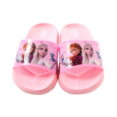 魔法Baby 女童鞋 台灣製迪士尼冰雪奇緣正版舒適拖鞋 sa14013