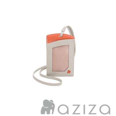 aziza 直式三卡層證件套 小象灰