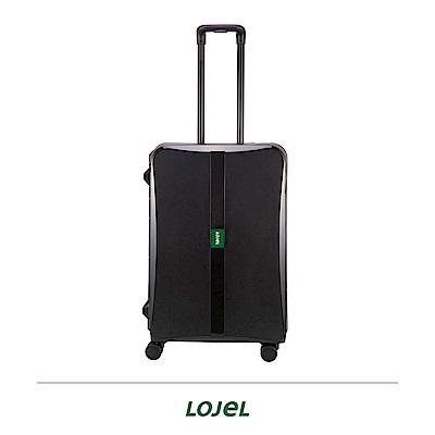 LOJEL OCTA 2   26 吋拉桿箱 黑色 PP材質 框架 密碼扣鎖