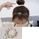 Hera 赫拉 時尚摩砂棉花珍珠造型髮圈/手圈 product thumbnail 1