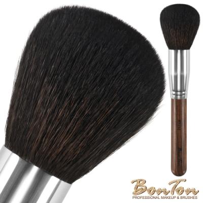 BonTon 原木系列 圓形蜜粉/粉餅刷 RTJ02 特級尖峰羊毛