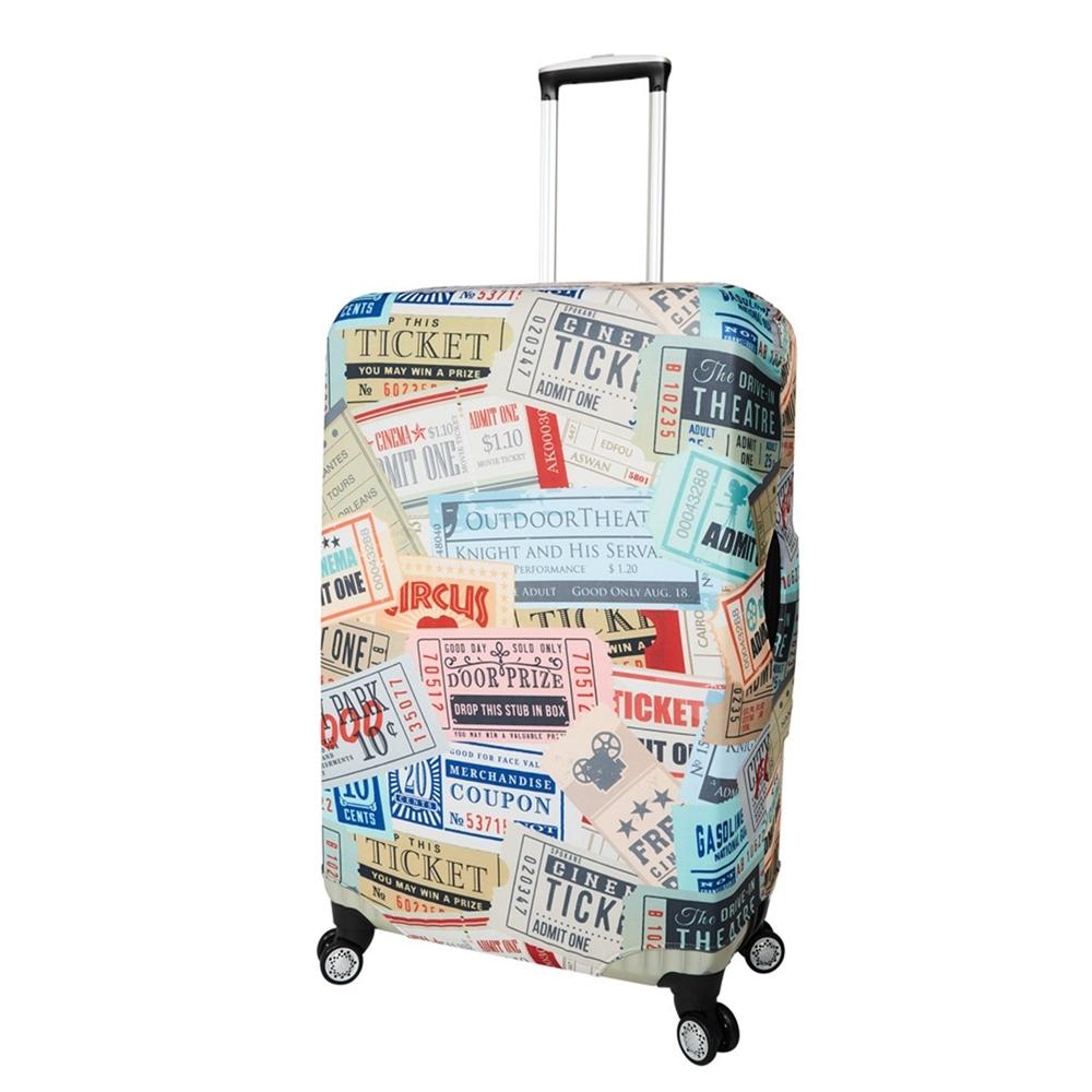 CS0452L票據 L號26-28吋日版彈力拉桿箱保護套 行李箱套