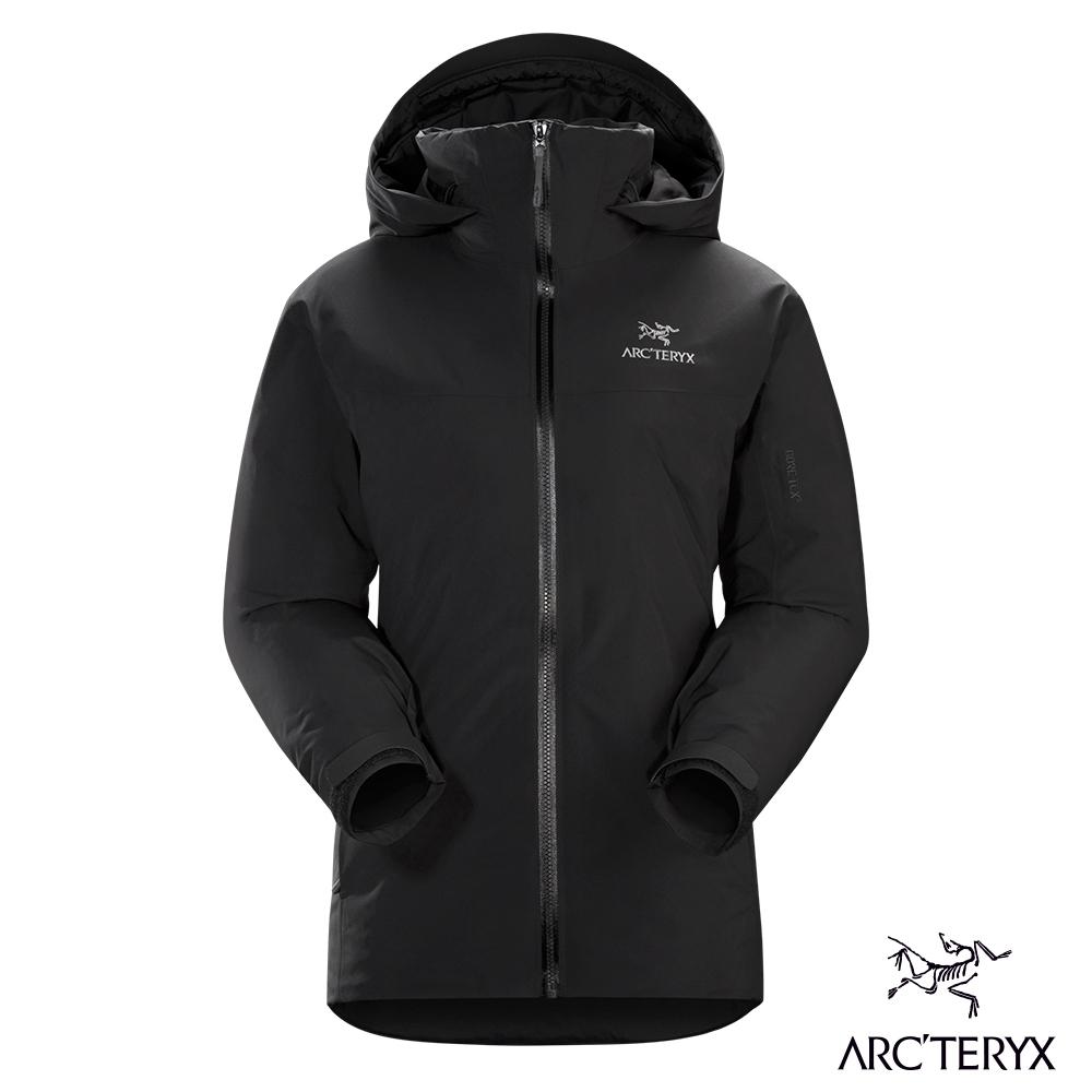 Arcteryx 始祖鳥 女 Fission SV GORE-TEX 化纖外套 黑