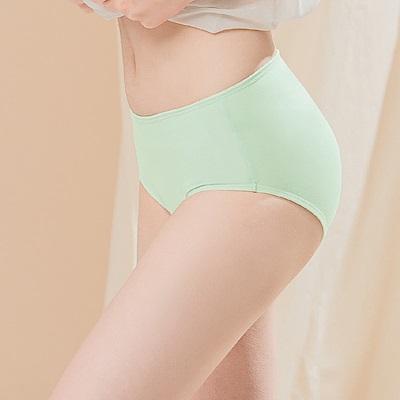 台灣製超細柔手感棉質中腰三角M-XL內褲 薄荷牛奶 可蘭霓Clany