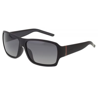 GUCCI-時尚太陽眼鏡(黑色/咖啡色)