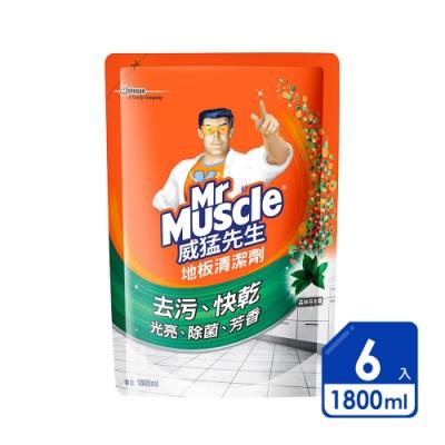 威猛先生 愛地潔地板清潔劑1800ml芬多精(6入/箱)