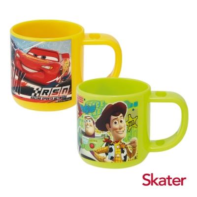 Skater牙刷杯-玩具總動員+閃電麥昆