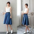 【韓國K.W.】時尚品味牛仔丹寧裙子系列(5款可選)