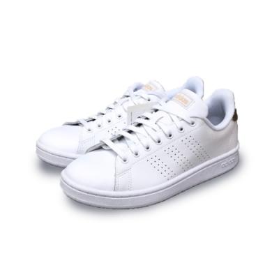 adidas 休閒鞋 小白鞋 皮革 運動 女鞋 白 F36223 ADVANTAGE