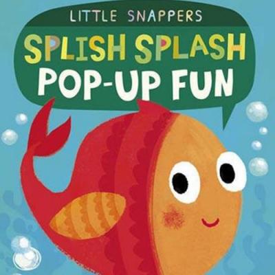 Splish Splash Pop-Up Fun 落水撲通撲通厚紙立體書