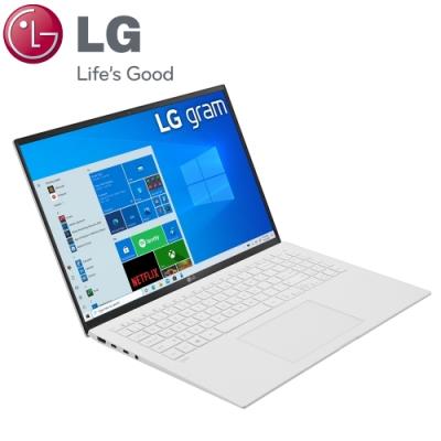 【LG 樂金】Gram 16Z90P 16吋筆電-白色(i5-1135G7/16G/512G+512G SSD/16Z90P-G.AA54C2/特仕版)