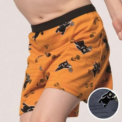 DADADO-熊尬有力 110-130男童內褲(灰) 品牌推薦-舒適寬鬆