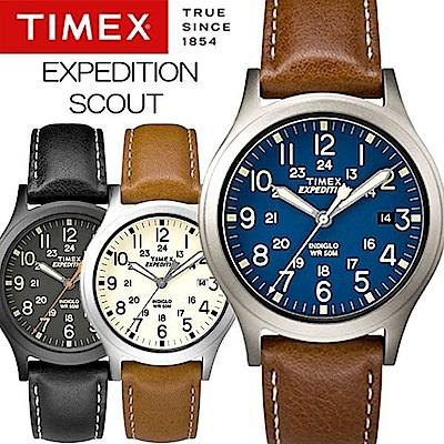 [時時樂限定]TIMEX 天美時 Expedition系列探險手錶-三色任選