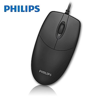 PHILIPS 飛利浦 有線滑鼠 SPK7234