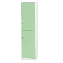 綠活居 阿爾斯環保1.4尺塑鋼高鞋櫃(12色可選)-42.5x37x180cm免組