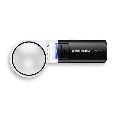 【Eschenbach】5x/20D/58mm 德國製LED手持型非球面放大鏡 15115