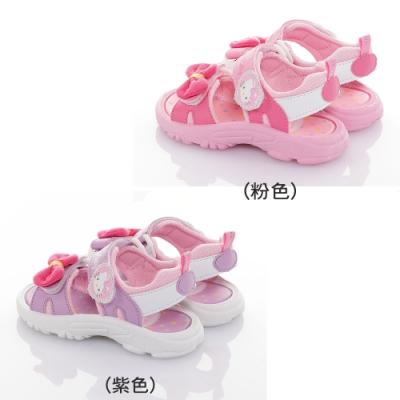 (雙11)Hello Kitty童鞋 輕量減壓涼鞋-紫