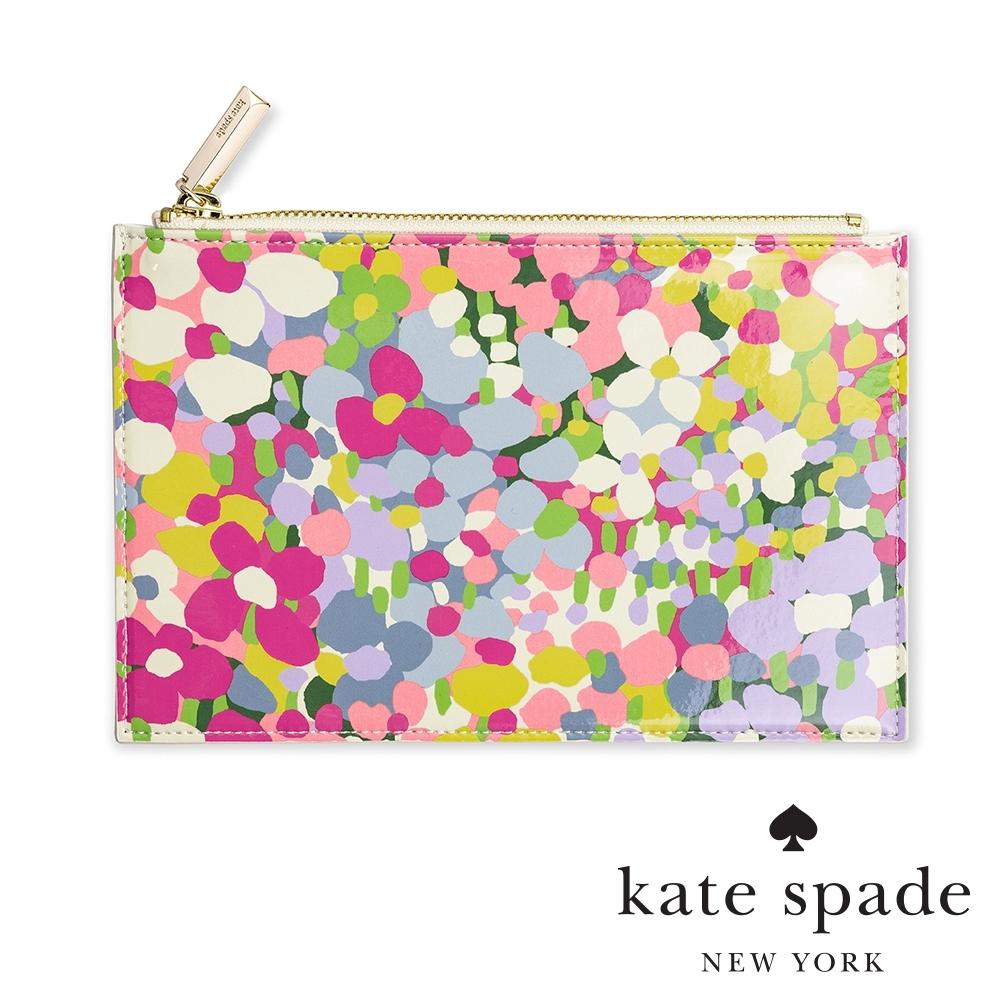 KATE SPADE 繁花點點小碎花萬用收納化妝包 Floral Dots