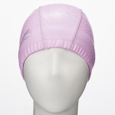 聖手牌 泳帽 粉紅合成泳帽