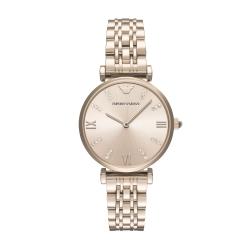 EMPORIO ARMANI 經典晶鑽時尚仕女腕錶32mm(AR11059)