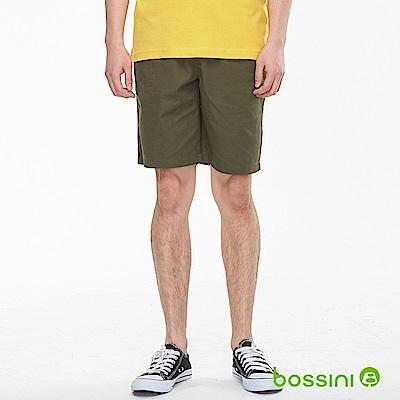 bossini男裝-素色輕便短褲01綠