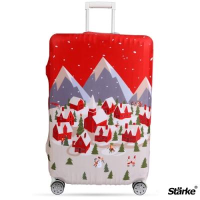 Starke 適用27-30吋高彈性行李箱套 -北歐村莊