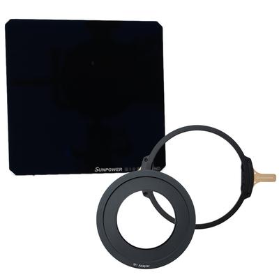 SUNPOWER M1 100x100 ND3.0 磁吸式方型濾鏡 + M1磁吸支架 + M1轉接環