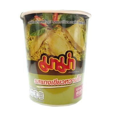 泰國杯麵-綠咖哩味(60g)