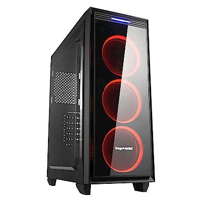 技嘉B360平台[衝擊霸炎]i7六核GTX1660-6G獨顯電玩機