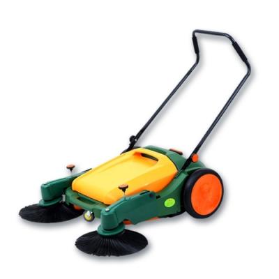EZmakeit 高效大容量手推自動掃地機