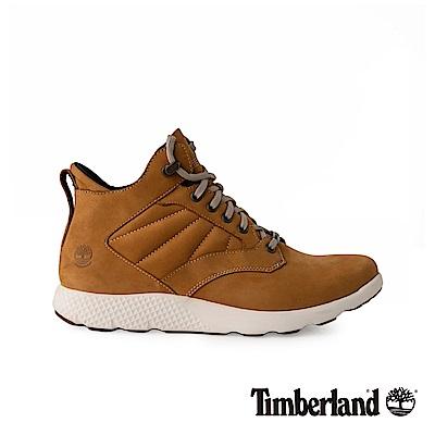 Timberland 男款小麥黃正絨面皮革運動靴|A1SAO