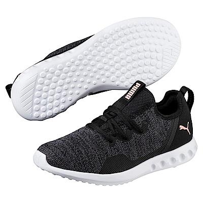 PUMA-Carson2XKnitWn s女性慢跑運動鞋-黑色
