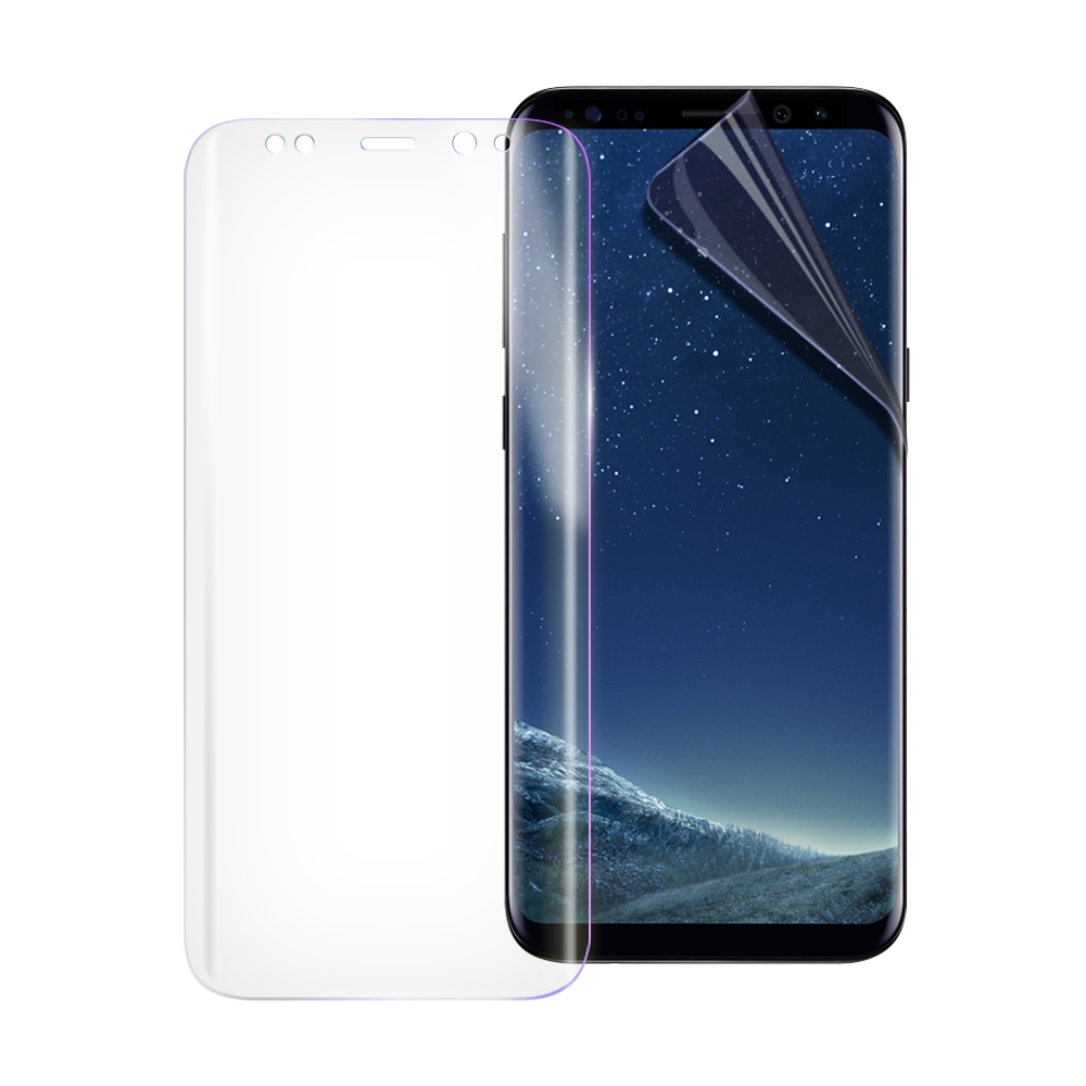 o-one大螢膜PRO 三星 Galaxy S8+ 全膠滿版保護貼-透明/霧面 @ Y!購物