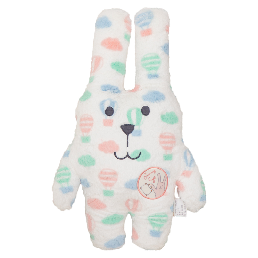 CRAFTHOLIC 宇宙人 夢想熱氣球兔寶貝枕