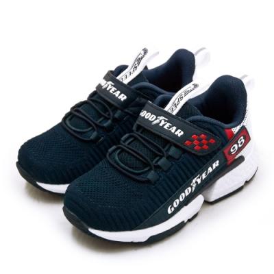GOODYEAR 固特異 輕量緩震慢跑鞋 極速幻影系列 藍灰紅 08506