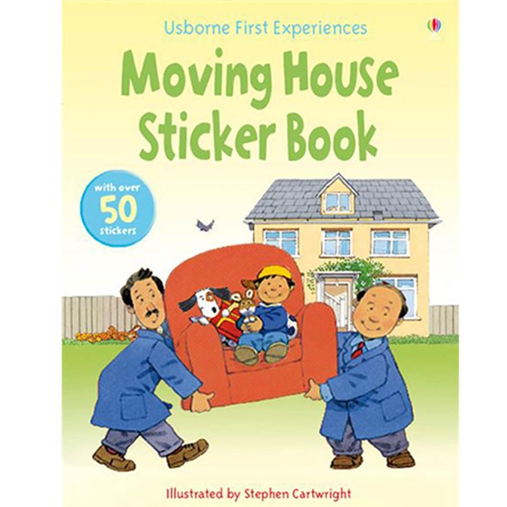 Moving House Sticker Book 故事貼紙書:搬家囉!