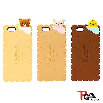 【日本 PGA】iPhone6/6S San-X 夾心餅乾系列 矽膠套