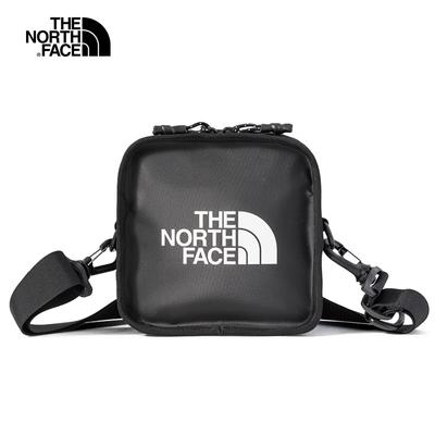 【經典ICON】The North Face北面男女款黑色休閒單肩背包|3VWSKY4