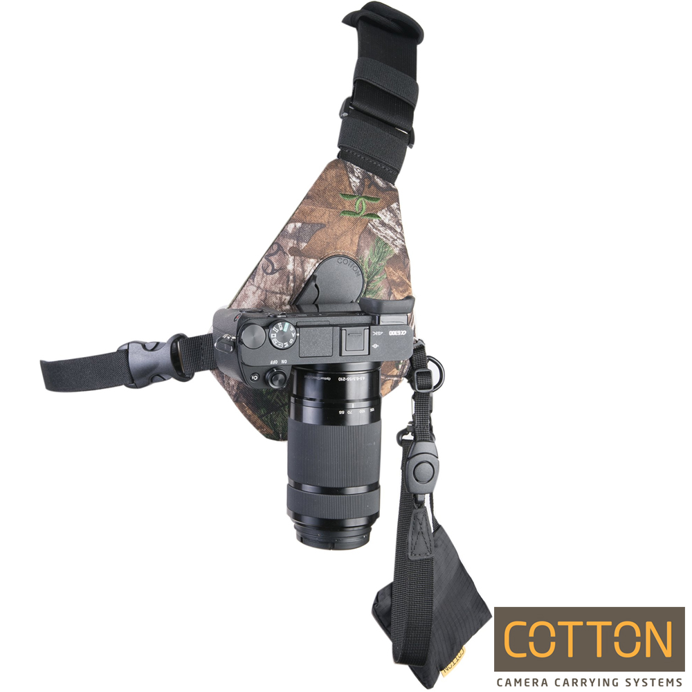 Cotton Carrier CCS G3 單肩相機快取系統-SKOUT(迷彩)