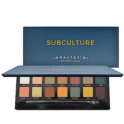 Anastasia Beverly Hills Subculture 14色眼影盤