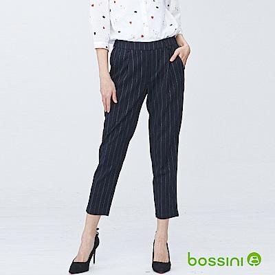 bossini女裝-彈性修身褲01海軍藍