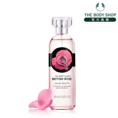 The Body Shop 玫瑰花露淡雅香水-100ML