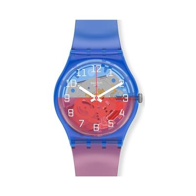 SWATCH Gent 原創系列手錶VERRE-TOI(34mm)