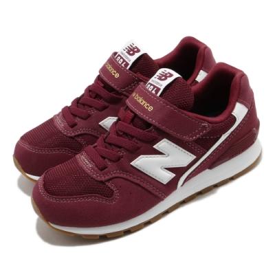 New Balance 休閒鞋 996 Wide 寬楦 運動 童鞋 紐巴倫 基本款 魔鬼氈 舒適 穿搭 中童 紅 白 YV996CPHW